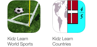 Kidz Learn World Sports and Countries