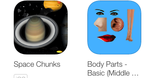 Space Chunks and Body Parts
